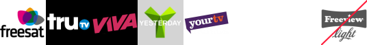 truTV, VIVA, Yesterday, YourTV