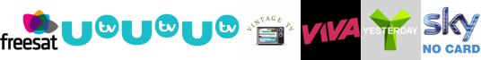 UTV, UTV HD, UTV+1, Vintage TV, VIVA, Yesterday