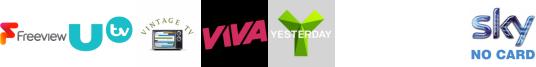 UTV+1, Vintage TV, VIVA, Yesterday