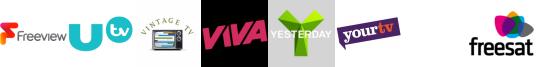 UTV+1, Vintage TV, VIVA, Yesterday, YourTV