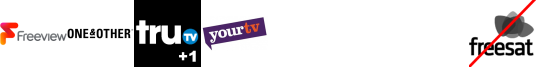 The York Channel, Tru TV +1, YourTV +1