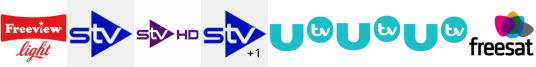 STV, STV HD, STV+1, UTV, UTV HD, UTV+1