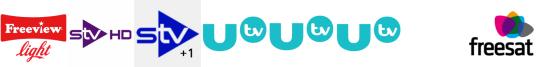 STV HD, STV+1, UTV, UTV HD, UTV+1