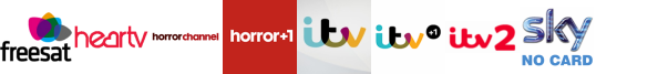 Front Runner 2, Heart Summer, Horror Channel, Horror Channel +1, ITV, ITV +1, ITV 2