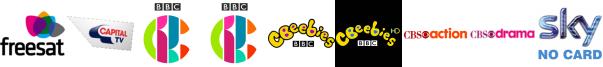 Capital TV, CBBC, CBBC HD, CBeebies, CBeebies HD, CBS Action, CBS Drama