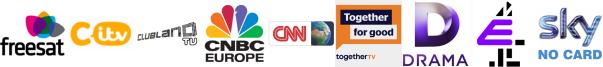 CITV, Clubland TV, CNBC, CNN International, Community Channel, Drama, E4