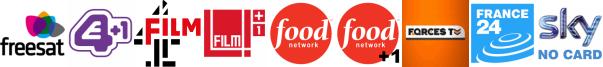 E4 +1, Film4, Film4 +1, Food Network, Food Network +1, Forces TV, France 24