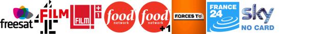 Film4, Film4 +1, Food Network, Food Network +1, Forces TV, France 24, Front Runner 2