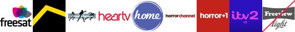 Freesports, Front Runner, Heart TV, Home, Horror Channel, Horror Channel +1, ITV 2 +1