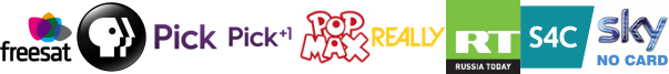 PBS America, pick, Pick +1, Pop MAX, Really, RT HD, S4C