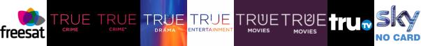 True Crime, True Crime +1, True Drama, True Entertainment, True Movies 1, True Movies 2, truTV