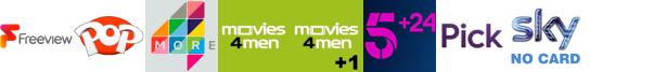 Keep It Country, Kix, More4, Movies4Men, Movies4Men +1, My5, pick