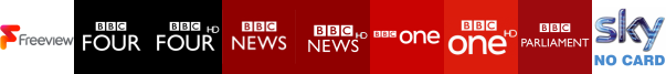 BBC Four, BBC Four HD, BBC News, BBC News HD, BBC One, BBC One HD, BBC Parliament