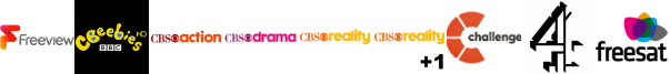 CBeebies HD, CBS Action, CBS Drama, CBS Reality, CBS Reality +1, Challenge, Channel 4