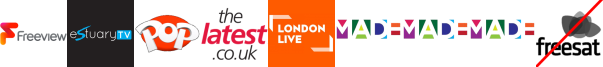 Estuary TV, Kix, Latest TV, LONDON LIVE, Made in Bristol, Made in Cardiff, Made in Leeds