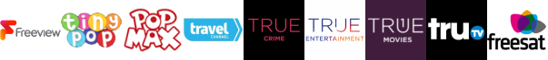 Tiny Pop, Tiny Pop 1 , Travel Channel, True Crime, True Entertainment , True Movies, truTV