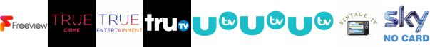 True Crime, True Entertainment, truTV, UTV, UTV HD, UTV+1, Vintage TV