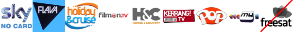 Flava, Holiday and Cruise, Home and Leisure, Horse and Country TV, Kerrang! TV, Kix, My Channel
