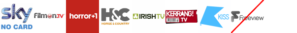Home and Leisure, Horror Channel +1, Horse and Country TV, Irish TV, Kerrang! TV, Khalsa%20TV, Kiss