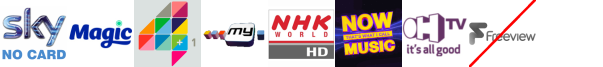 Magic, More4+1, My Channel, NHK World TV HD, Nollywood Movies, NOW Music, OH TV