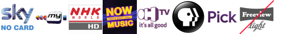 MyTV, NHK WORLD HD, Nollywood Movies, NOW 80s, OH TV, PBS America, pick