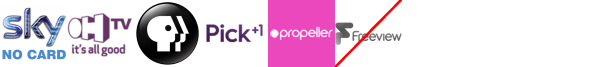 OH TV, PBS America, Pick +1, Propeller, Property TV, Rok, Scuzz