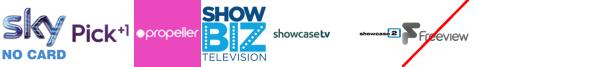 Pick +1, Propeller, Property TV, Scuzz, ShowBiz TV +1, Showcase, Showcase 3