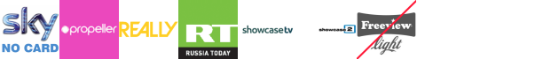 Propeller, Property TV, Really, RT HD, Scuzz, Showcase, Showcase TV +1
