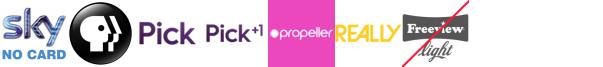 PBS America, pick, Pick +1, Propeller, Property TV, Really, Rok