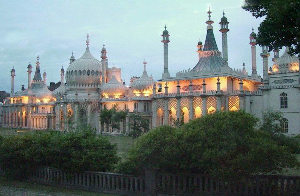 Brighton Pavilion picture by Brian Butterworth