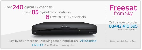 how to get free channels on sky box without card