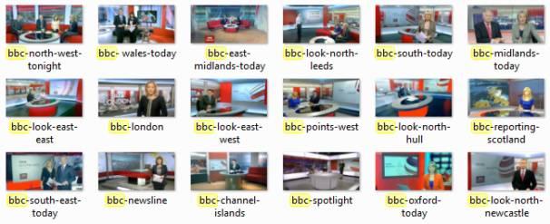 BBC Regions