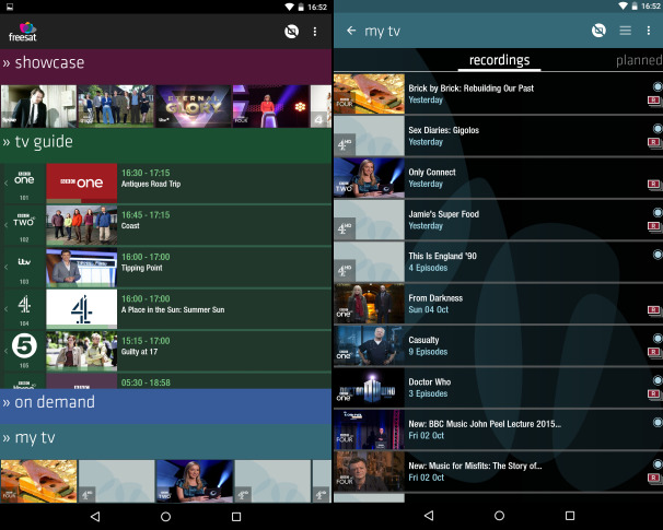 Freesat Android App