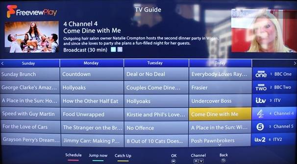 Freeview Play Backwards EPG