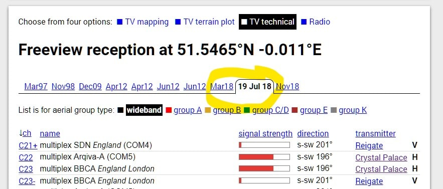 Updates for 700MHz Freeview retunes, fixed all channels, new icons