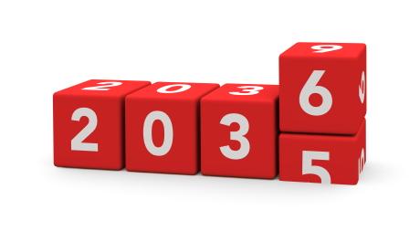 2036  Photograph: Shutterstock