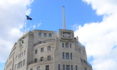 The really big knife will be out at Broadcasting House very soon.  Photograph: Brian Butterworth