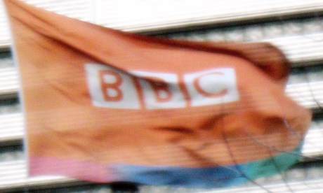 A real BBC flag  Photograph: Web