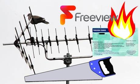 Learn from us how to cut the TV cord - and still watch the same stuff - all 100% legal and 100% free.   Photograph: UK Free TV