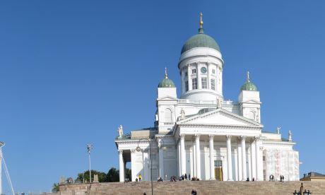 Senate Square, Senaatintori, Helsinki, Finland  Photograph: Wikipedia