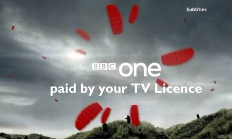 BBC One ident with something extra  Photograph:
