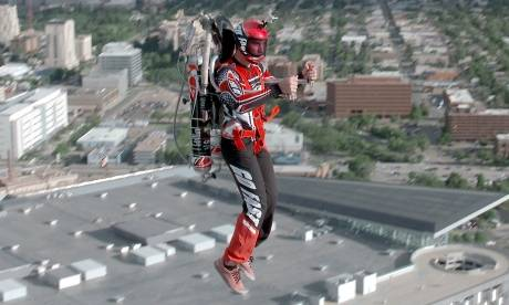 Incredible Flying Jet Packs  Photograph: PBS America