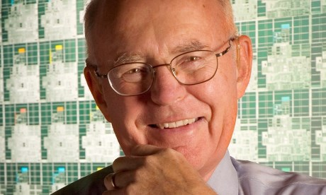 Gordon Moore  Photograph: Intel