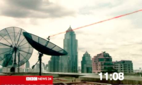 BBC News 24, as was, had more graphics designers than engineers.    Photograph: BBC News 24
