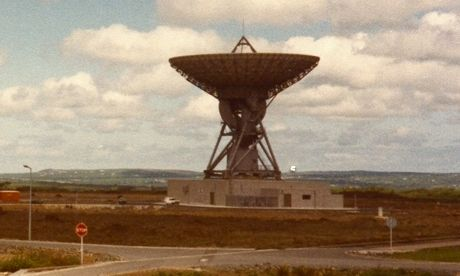Goonhilly Downs, 1984  Photograph: Brian Butterworth
