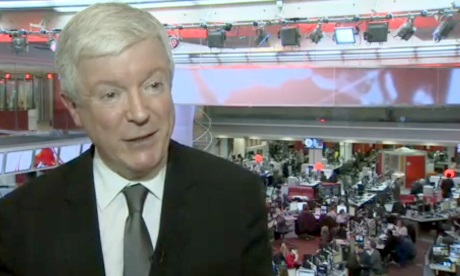 Are we looking at the first MD of BBC Productions plc?   Photograph: BBC