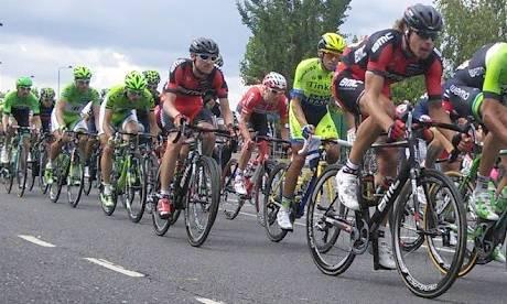 Tour De France on ITV4  Photograph: Brian Butterworth