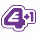 E4 +1 logo