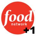 Food Network +1 logo