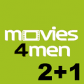 Movies4Men 2 +1 logo